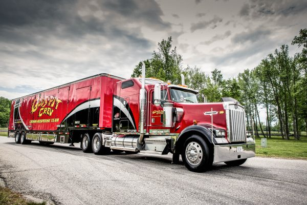 Our tractor-trailers are ready to respond at a moments notice when disaster strikes.